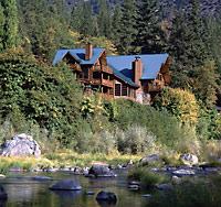 Oregon Log Home