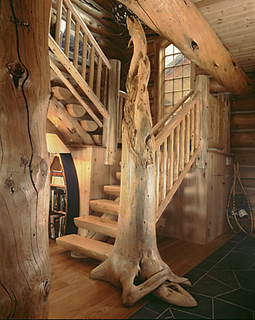 Enhancing Your Log Home With Architectural Accents.